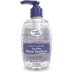 Cool & Cool Travelling Hand Sanitizer Gel - 250ml
