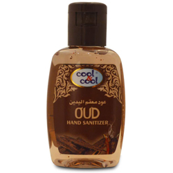 Cool & Cool Hand Sanitizer Gel - Oud - 60ml