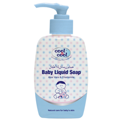 Cool & Cool Baby Liquid Soap - 250ML - Aloe Vera & Chamomile