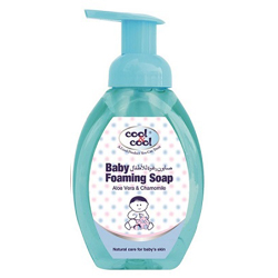 Cool & Cool Baby Foaming Soap - 350ml - Aloe Vera & Chamomile