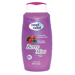 Cool & Cool Body Wash - 250ml - Berry Mint preview