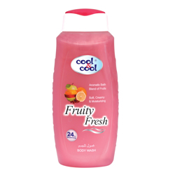 Cool & Cool Body Wash - 250ml - Fruity Fresh