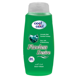 Cool & Cool Body Wash - 500ml - Flawless Desire