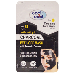 Cool & Cool 2-in-1 Charcoal Peel Off Mask preview