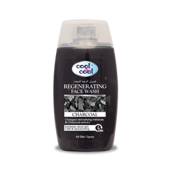 Cool & Cool - Regenerating Face Wash Charcoal - 100ml