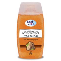 Cool & Cool - Acne Control Face Scrub Fig - 100ml