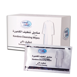 Cool & Cool Kandura Wipes Sachet - 12'S