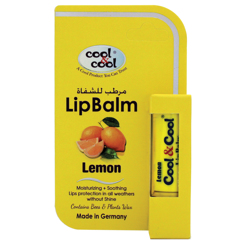 Cool & Cool Lip Balm - Lemon
