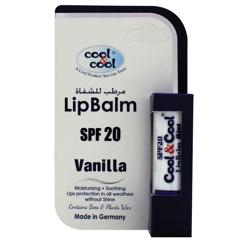 Cool & Cool Lip Balm - Vanila