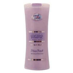 Cool & Cool Moisturizing Shower Gel - 400ml - Flora Fresh