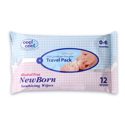 Cool & Cool New Born Baby Wipes - 10's