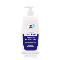 Cool & Cool Travelling Anti-Bacterial Hand Wash - 500ml