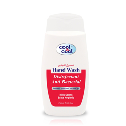 Cool & Cool Disinfectant Anti-Bacterial Hand wash - 250ml