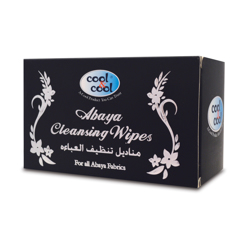 Cool&Cool Abaya Wipes Sachet, 12'S