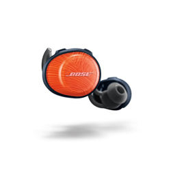 Bose SoundSport Free Wireless In-Earbuds - Orange/Navy