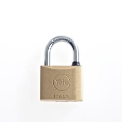 Yale 15-0110-4022-00-0201 110 Series Brass Padlock 40MM - Brass