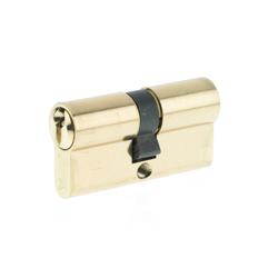 Yale 10-0502-3030-00-02-01, 500 Series Double Euro Profile Cylinder 30+30 Polished - Brass