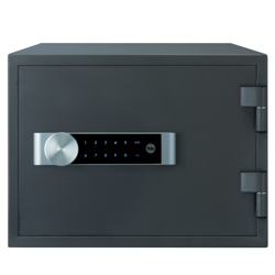 Yale YFM/352/FG2 Medium Safe, 2x18 mm Locking Bolts, 4x Interior Key Hooks, Black Finish, 19 Litre Capacity
