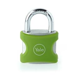 Yale YE3/25/112/1/G Aluminium Padlock 25mm - Green