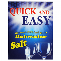 Quick and Easy Dishwasher Salt - 1.5kg