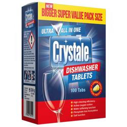 Crystale Dishwasher Tablets - 100s
