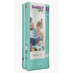 Bambo Nature Eco-Friendly Diaper Size 6, 16+kg, (40 diapers) Tall pack