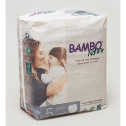 Bambo Nature Eco-Friendly Pants Diapers, Size 5, 12-20kg (20 pants)