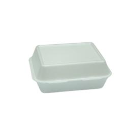 Hotpack White Foam Burger Box HB2 - 500 Pieces