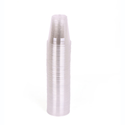 Hotpack 12oz Clear Pet Cups 1000 Pcs+ Dome Lid