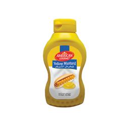 American Gourmet Yellow Mustard - 14oz