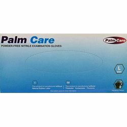 Palm Care Nitrile Gloves Large Blue (100 Pcs/Box) Powder Free