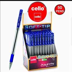 Cello Soft-Tip Ballpen - Pack of 50
