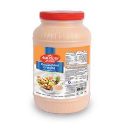 American Gourmet Thousand Island Salad Dressing - Gallon