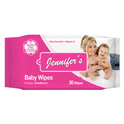 Jennifer's Baby Wipes - 30 sheets