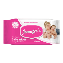 Jennifer's Baby Wipes - 120 sheets