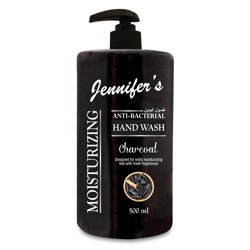Jennifer's Hand Wash 500ml - Charcoal