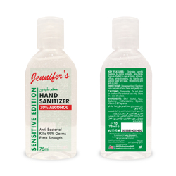 Jennifer's Sanitizer 75ml - Herbal