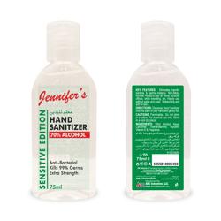 Jennifer's Sanitizer 75ml - Herbal