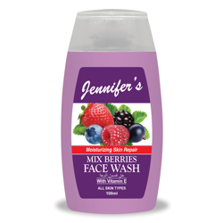 Jennifer's Face Wash Mix Berries - 100ml