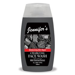 Jennifer's Face Wash Charcoal - 100ml