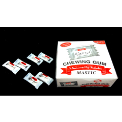Mahmoud Sharawi Chewing Gum Mastik Flavor - 2.1gm (Pack Of 100)