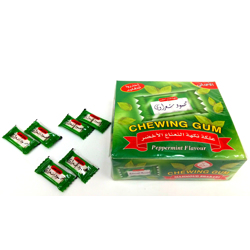Mahmoud Sharawi Chewing Gum Peppermint Flavor - 2.1gm (Pack Of 100)