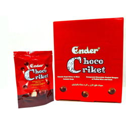 Ender Chococriket Chocolate Coated Dragee - 30gm (Pack Of 24)