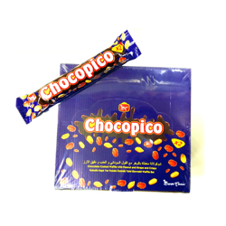 Bc Chocopico X2 Chocolate Coated Wafer - 56gm (Pack Of 24)