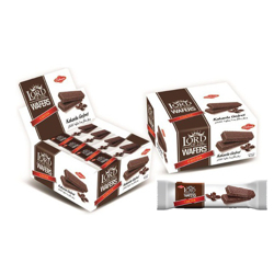 Cihan Lord Of The Wafers Cocoa - 35gm (Pack Of 24)