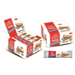 Cihan Lord Of The Wafers Hazelnut Crispy Wafer - 35gm (Pack Of 24)