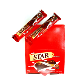 Oslo Star Bar Chocolate With Milk - 40gm (Pack Of 24)