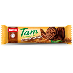 Torku Tam Whole Wheat Oat Sandwich Biscuits With Cocoa Cream - 83gm