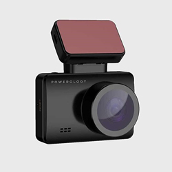 Powerology Dash Camera Pro - Gap-less Cyclic recording 1080P Full-HD - Black