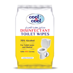 Cool & Cool Toilet Wipes-20 Sheets